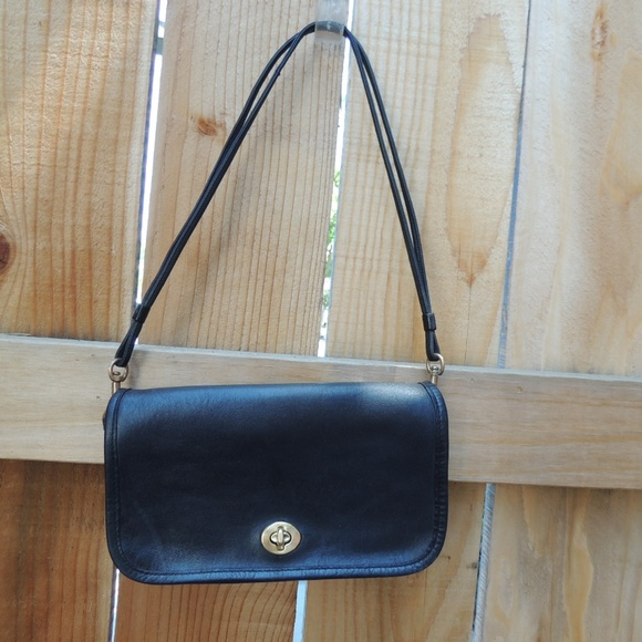 777a167024 Coach Handbags - Vintage Coach NYC Factory Clutch Shoulder Bag